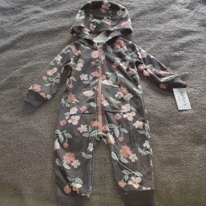 Baby / Infant Carter's Hooded Bodysuit NWT